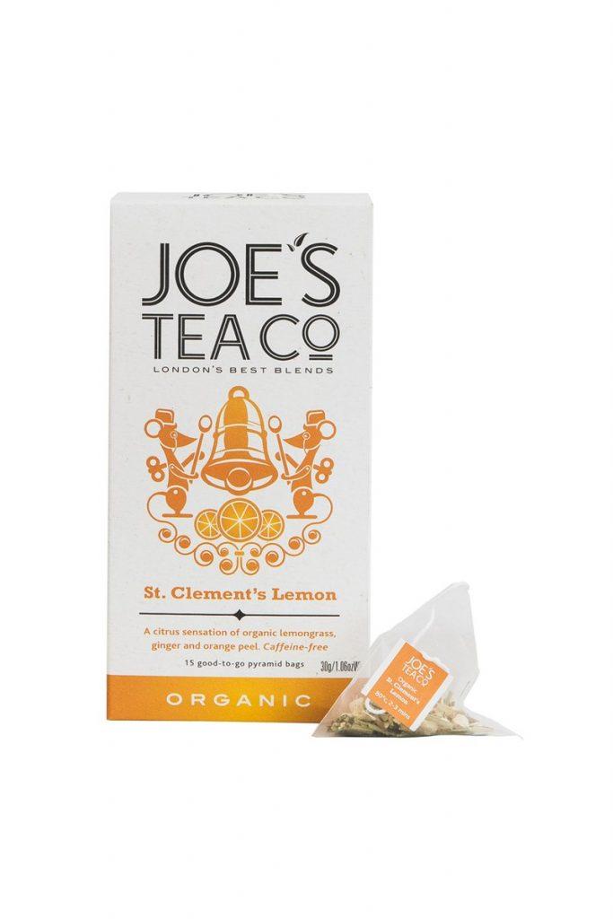 Joe's Tea Co. St. Clements Lemon - Organic