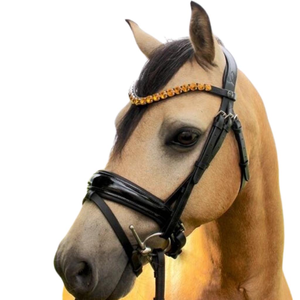 Ice Equestrian Browband - Royal Lemon Sorbet