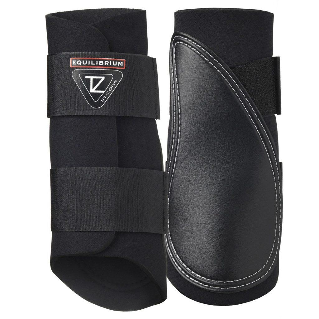 Equilibrium trizone brushing boots black