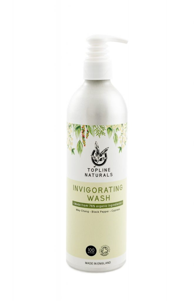 Toplines Invigorating Wash – After Exercise – 500ml