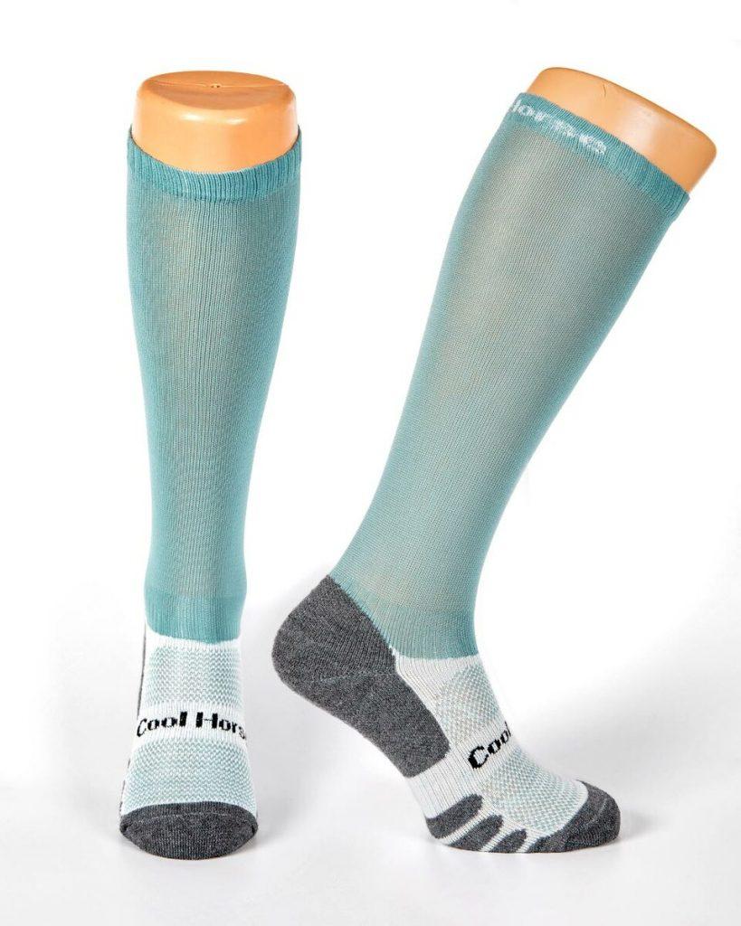 Coolhorse socks - Duck Egg (4-7 UK)