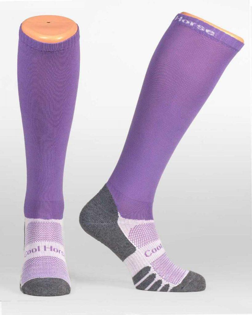 Coolhorse socks - Lavender (4-7 UK)