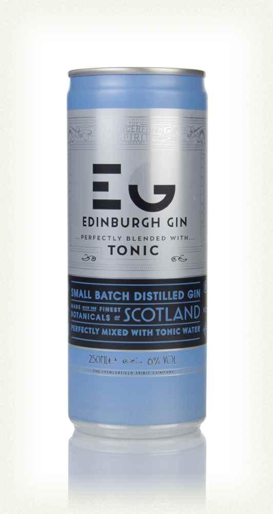 Edinburgh Gin & Tonic - 250ml