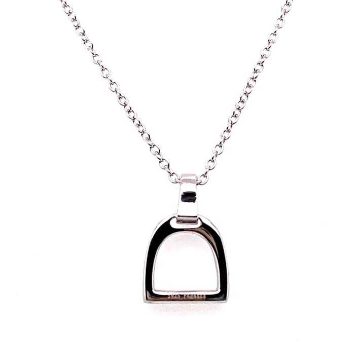 Pegasus Jewellery - Silver mini stirrup