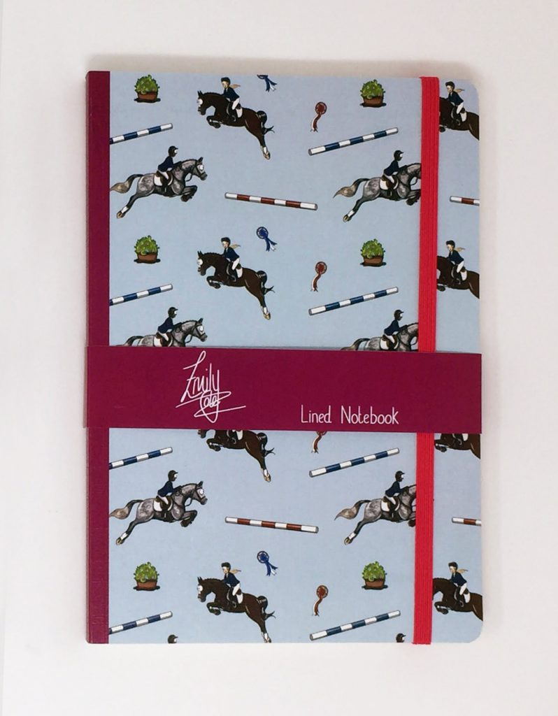 Emily Cole 'Showjumping' Lined Notebook