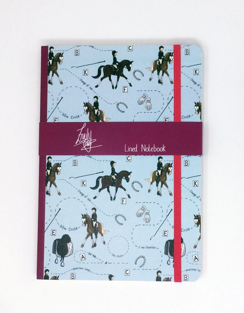 Emily Cole 'Dressage' Lined Notebook