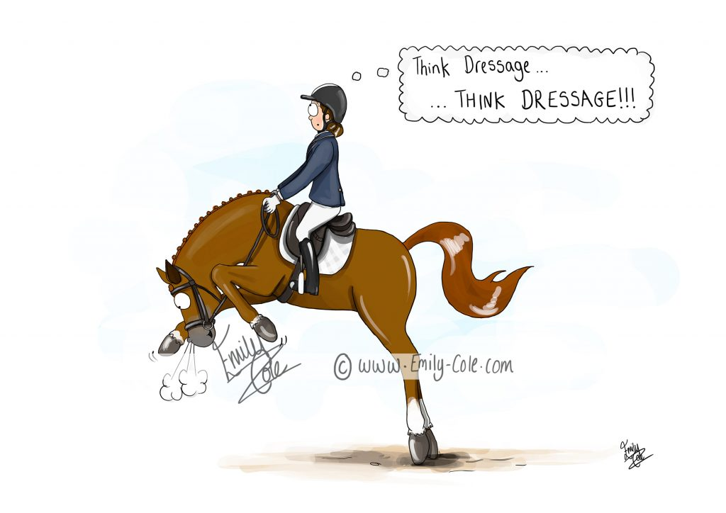 Think Dressage' by Emily Cole