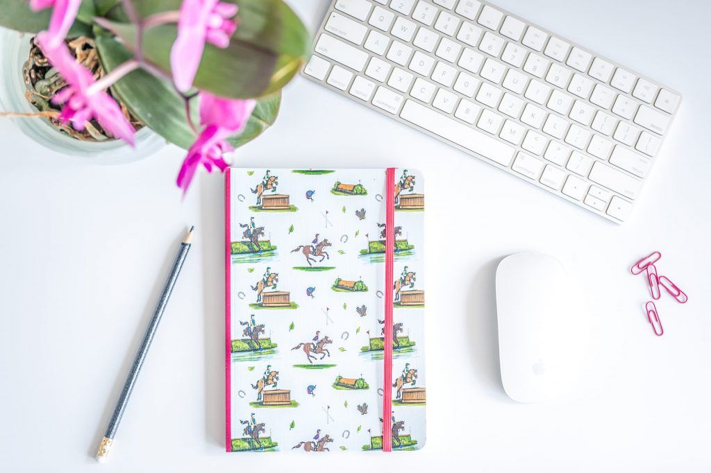 Emily Cole 'Cross Country' Lined Notebook