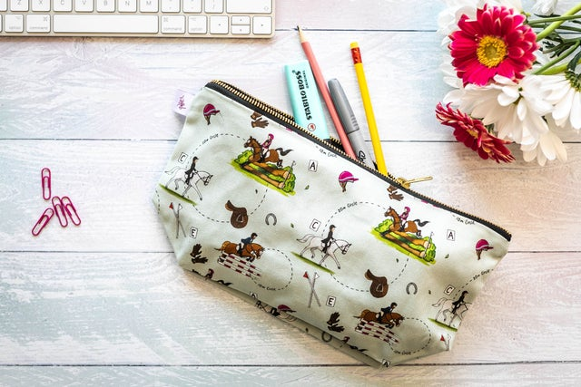 Emily Cole 'Eventing' wash bag