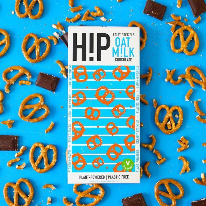 H!P Salty Pretzals Oat Milk Chocolate 70g