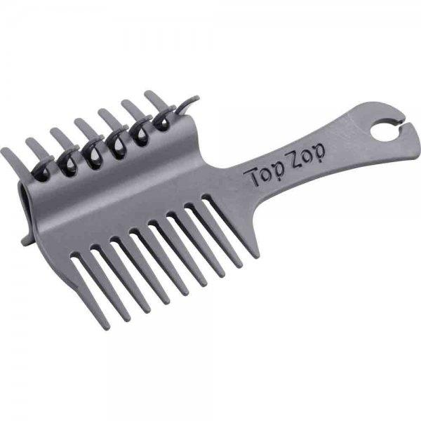 Top Zop Plaiting Comb Grey